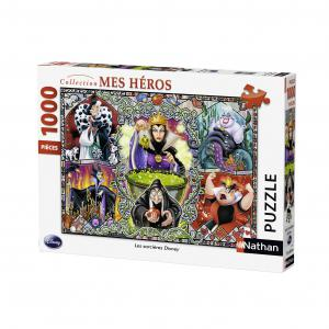 Nathan puzzles - 87597 - Puzzle 1000 pièces - Les sorcières de Disney (273824)