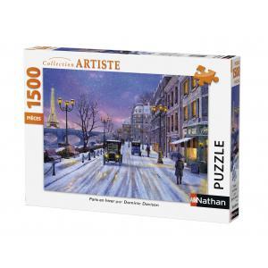 Nathan puzzles - 87769 - Puzzle 1500 pièces - Paris en hiver (273840)