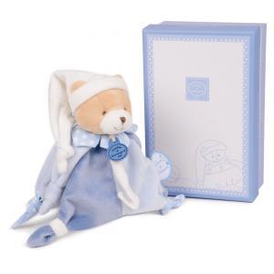 Doudou et compagnie - DC2714 - Petit chou - doudou attache-sucette - 17 cm - boîte cadeau (273904)
