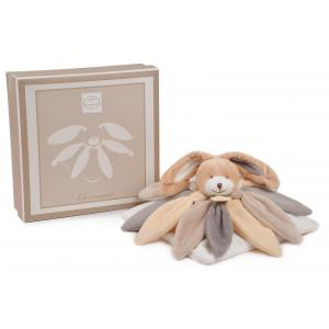 Doudou et compagnie - DC2792 - Doudou lapin Collector  taupe (274004)