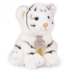 Histoire d'ours - HO2344 - Peluche Les authentiques - tigre blanc 20 cm (274088)