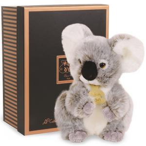 Histoire d'ours -  HO2218 - Les authentiques - koala - 20 cm - boîte cadeau (274090)