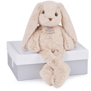 Histoire d'ours - HO2431 - Peluche Copains câlins - lapin beige 40 cm  (274100)