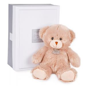 Histoire d'ours - HO2513 - Ours douillet champagne 30 cm - boîte cadeau (274138)