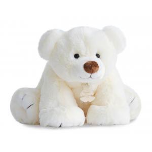 Histoire d'ours - HO2520 - Peluche Gros'ours 50 cm - ecru 50 cm (274184)
