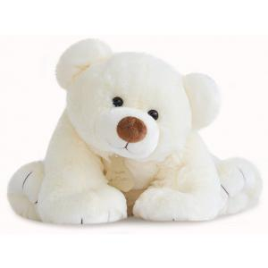 Histoire d'ours - HO2521 - Peluche gros'ours - ecru - taille 65 cm (274186)