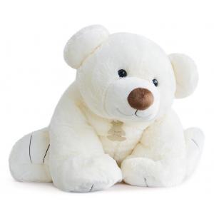 Histoire d'ours - HO2522 - Peluche Gros'ours 90 cm - ecru 90 cm (274188)