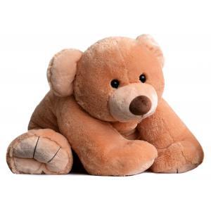 Histoire d'ours - HO2524 - Peluche Gros'ours 65 cm - miel 65 cm (274192)