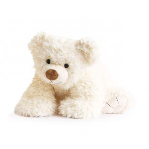 Histoire d'ours - HO2526 - Collection Les Ours - PAT'OURS 50 cm - Blanc (274196)