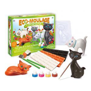 Sentosphère - 2631 - Coffret éco-moulage Popsine Les chats et chatons (274252)
