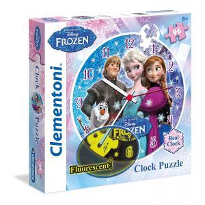 Clementoni - 23021 - Puzzles 96 Pièces - La Reine des Neiges (275096)