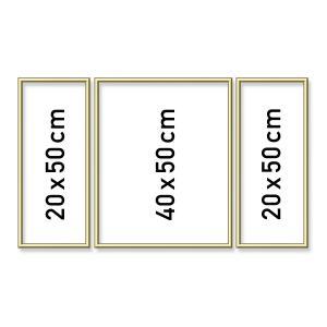 Schipper - 605140707 - Cadre triptyques en aluminium 50 x 80 cm (275608)
