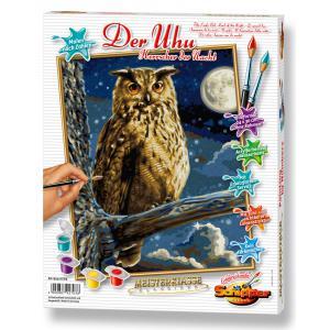 Schipper - 609240703 - Peinture aux numeros - Le grand duc - le maitre de la nuit 24 x 30 cm (275620)