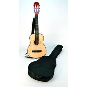 Bontempi - GSW75.2/B - Guitare en bois  75 cm + bandoulière et housse (276226)