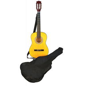 Bontempi - GSW92.2/B - Guitare en bois  92 cm + bandoulière et housse (276230)