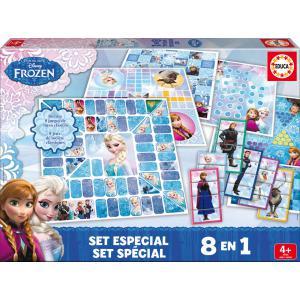 Educa - 16386 - Set spécial Disney jeux de société Frozen (276442)