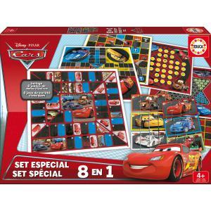 Educa - 16388 - Set spécial Disney jeux de société Cars (276444)