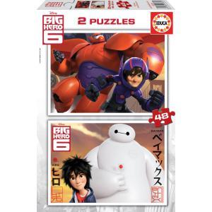 Educa - 16336 - Puzzle 2x48 les nouveaux héros (276484)
