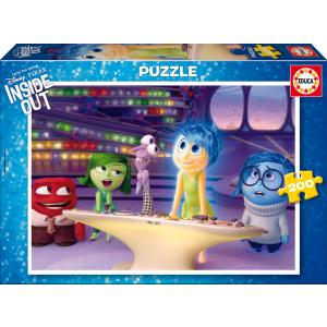 Educa - 16334 - Puzzle Vice-versa 200 pièces Carton (276494)