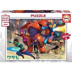 Educa - 16338 - Puzzle 200 les nouveaux héros (276496)