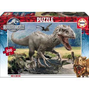 Educa - 16368 - Puzzle Jurassic World 200 pièces Carton (276530)