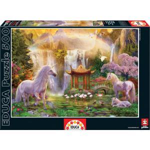 Educa - 16270 - Puzzle 500 la vallée des licornes (276538)
