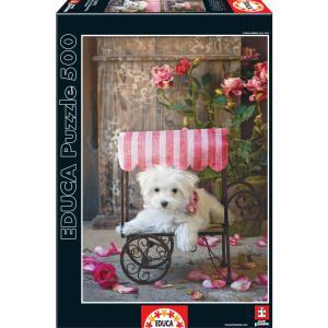 Educa - 16272 - Puzzle 500 be my valentine, Lisa Jane (276542)