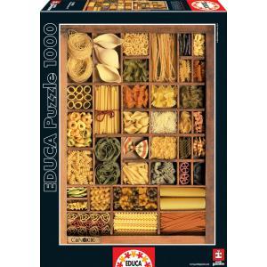 Educa - 16285 - Puzzle 1000 pasta basta 3 (276552)