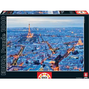 Educa - 16286 - Puzzle 1000 lumières de Paris (276554)