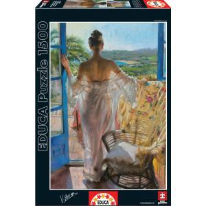 Educa - 16305 - Puzzle 1500 méditerranée, Vicente Romero (276576)