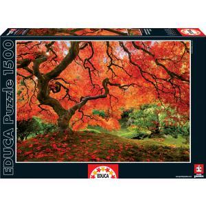 Educa - 16310 - Puzzle 1500 jardin japonais (276586)