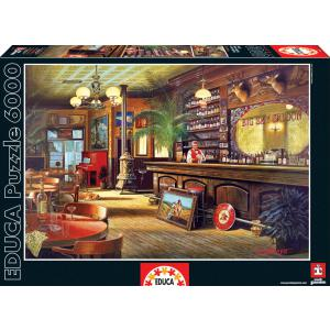 Educa - 16357 - Puzzle 6000 le salon big sky (276610)