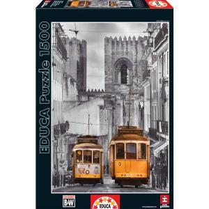 Educa - 16311 - Puzzle 1500 quartier de la Alfama, Lisbonne (276622)