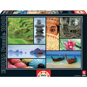 Educa - 16294 - Puzzle 1000 couleurs d'Asie (276626)