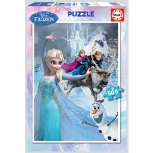 Educa - 16267 - Puzzle 500 la Reine des Neiges (276632)