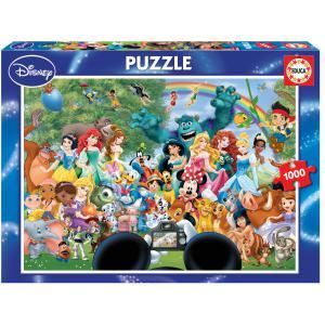 Disney - 16297 - Puzzle 1000 le merveilleux monde de Disney 2 (276636)