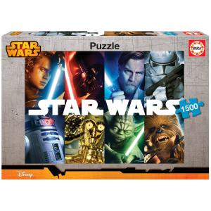 Educa - 16312 - Puzzle 1500 Star Wars (276642)