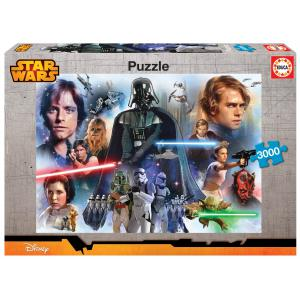 Educa - 16321 - Puzzle 3000 Star Wars (276644)
