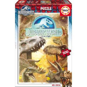 Educa - 16341 - Puzzle 500 Jurassic world (276664)