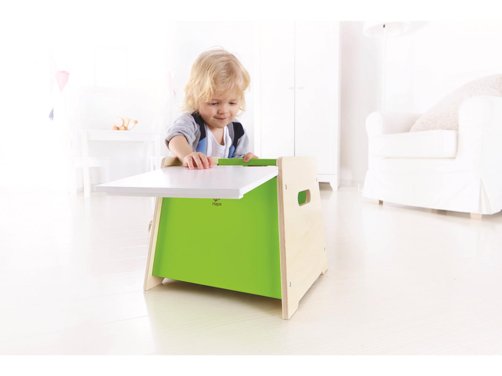 hape tabouret de rangement. Black Bedroom Furniture Sets. Home Design Ideas