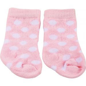Gotz - 3402530 - Chaussette spots on pink pour poupées de 42-46cm, 48cm, 45-50cm (277924)