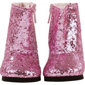 Gotz - 3402537 - Bottes glittery pink pour poupées de 42-46cm, 45-50cm (277938)