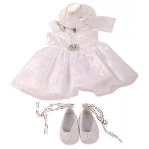 Gotz - 3402601 - Combinaison, whiteness, 4 pièces pour poupées de 45-50cm (278012)