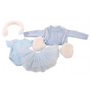 Gotz - 3402602 - Combinaison, skating beauty, 5 pièces pour poupées de 45-50cm (278014)