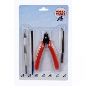 Artesania - 27050-1 - Set basique d'outils pour maquettes en plastique (278248)