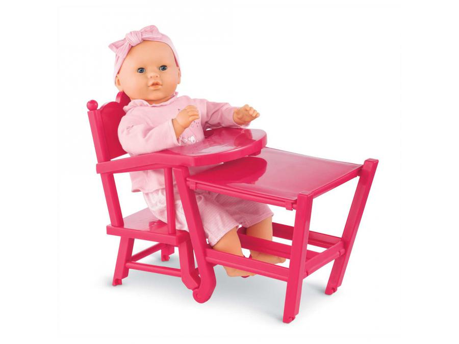 Corolle chaise haute cerise partir de 3 for Chaise haute corolle