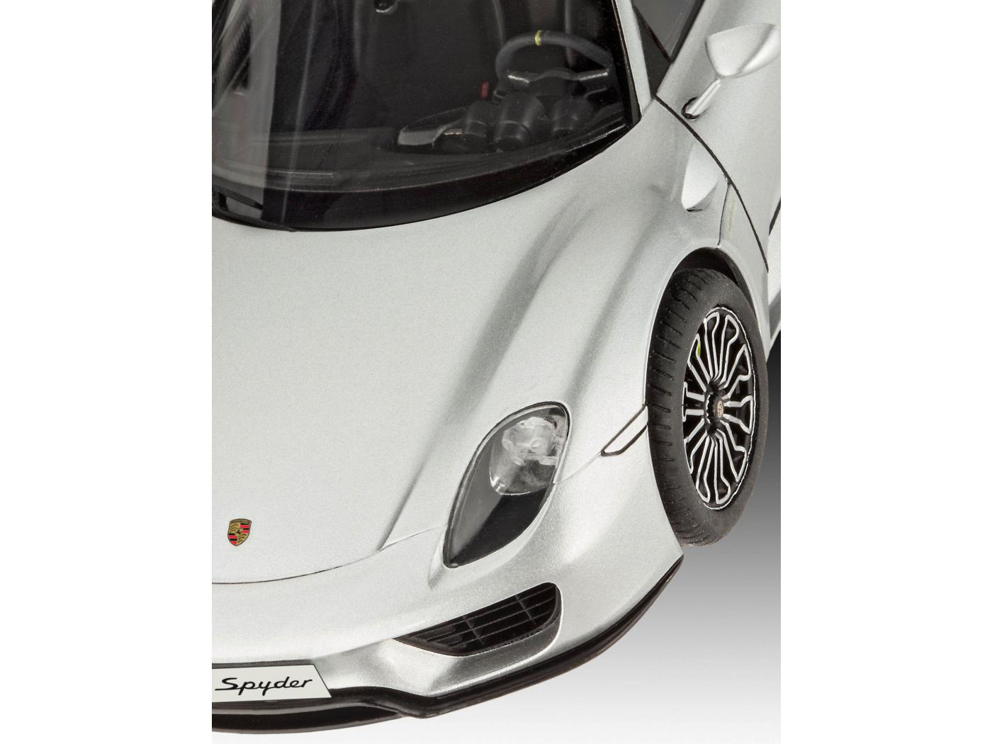 revell porsche 918 spyder 1 24 level 4 skill 4. Black Bedroom Furniture Sets. Home Design Ideas