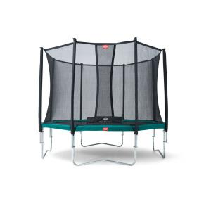 Berg - 35.12.01.01 - Trampoline Favorit 380 + Filet de sécurité Comfort 380 (279734)