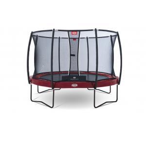 Berg - 37.12.81.00 - Pack Trampoline Elite+ Regular Red 380 + Filet de sécurité T-series 380 (279804)