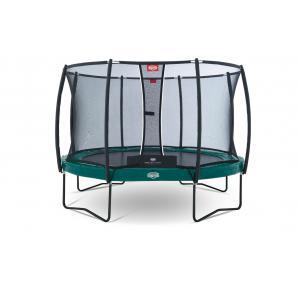 Berg - 37.24.91.00 - Pack Trampoline Elite+ Regular Green 430 Tattoo + Filet de sécurité T-series 430 (279816)